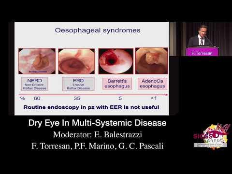 SICSSO 2018 - ENG - F. Torresan (Bologna) - Dry Eye in  Multi-Systemic Diseases
