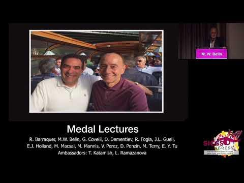 SICSSO 2018 - ENG - M. W. Belin (USA) - S. B. Hannush Medal Lecture presentation