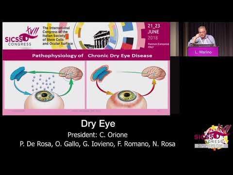 SICSSO 2018 - ITA - L. Marino (Milan) - Evaporative dry eye