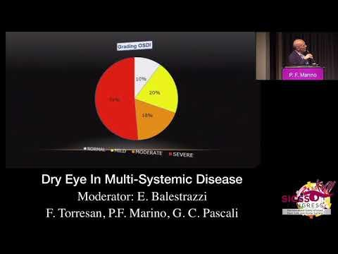 SICSSO 2018 - ITA - P. F. Marino (Formia, LT) - Dry Eye in  Multi-Systemic Diseases