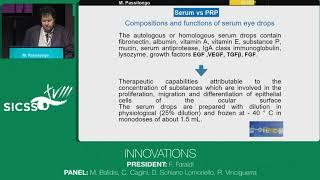 SICSSO 2019 - ENG - M. Passilongo (Trento) - Comparison between homologous serum eye drops and plate
