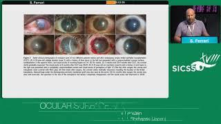 SICSSO 2019 - ITA - S. Ferrara (Mestre, VE) - Regeneration of conjunctiva in ocular surface reconstr