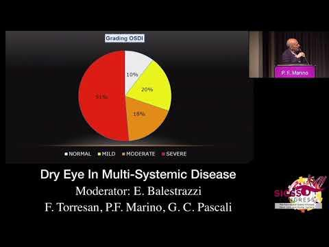 SICSSO 2018 - ENG - P. F. Marino (Formia, LT) - Dry Eye in Multi-Systemic Diseases