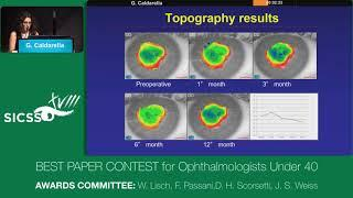 SICSSO 2019 - ENG - G. Caldarella (Verona) - Use of accelerated CXL in recurrent keratoconus (RKC) a