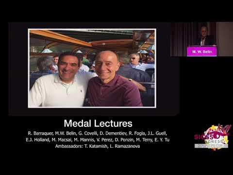 SICSSO 2018 - ITA - M. W. Belin (USA) - S. B. Hannush Medal Lecture presentation
