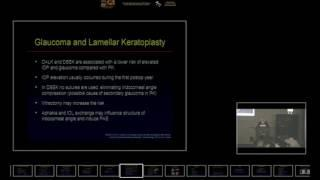 SICSSO 2016 - ITA - G. Marchini (Verona) - Glaucoma in keratoplasty: what is changed with lamellar t