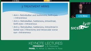 SICSSO 2019 - ITA - J. N. Weiss (USA) - Keynote Lecture - Stem cell ophthalmology treatment study -
