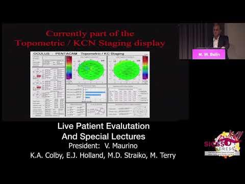 SICSSO 2018 - ENG - M. W. Belin (USA) - How to predict keratoconus progression